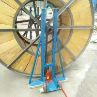 [吉达]销售大型电缆放线架放线架子放线器放线支架光钎光缆放线架放线盘3吨5吨梯形放线支架批发