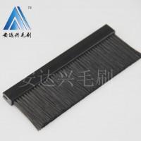 直销 深圳黑色塑胶底座工业毛刷  威图毛刷  植毛刷 可定制