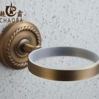 直销 欧式全铜仿古马桶架套装 铜底座陶瓷杯马桶刷 新款特价