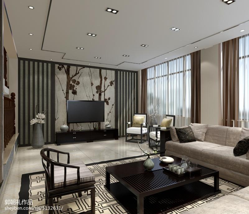 镂空雕花屏风代表优雅现代家庭不可缺失的一部分