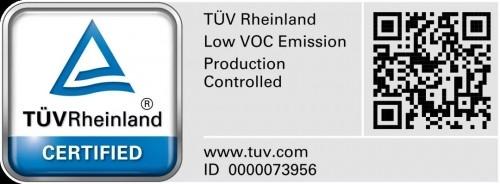 德爱威七款乳胶漆通过德国莱茵TÜV严格标准考核
